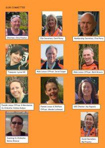 SLGR - Dartford Running Club Committee Members