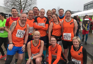 SLGR - Dartford Running Club Team photo