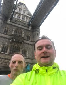 SLGR - Dartford Running Club Members Training for London Marathon